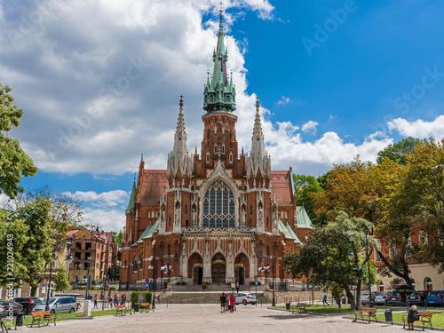 Cadres-photo bureau Cracovie Krakau – Sankt Josef Kirche im Stadtteil Podgórze