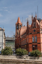 Budynek Starej Poczty W Bydgoszczy