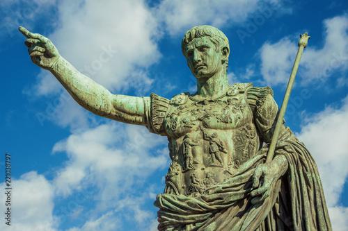 Obraz na plátně Caesar Augustus, the first emperor of Ancient Rome