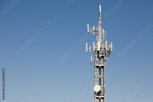 Fotografie, Tablou  Antenna per trasmissioni