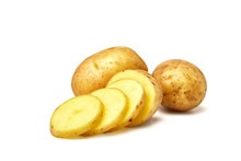Potatoes. Fresh Natural Potato...