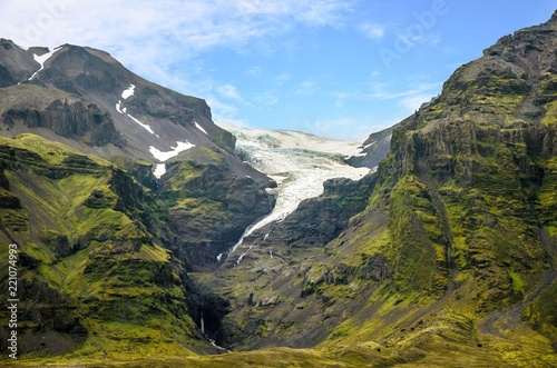Glacier in Summer - Iceland