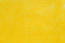 Yellow Pastel Crayon Background Texture
