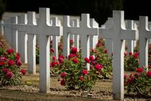 Cemetery Outside Of The Douaumont Ossuary Near Verdun France