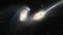 0195 A Pair Of Colliding Galaxies, HD