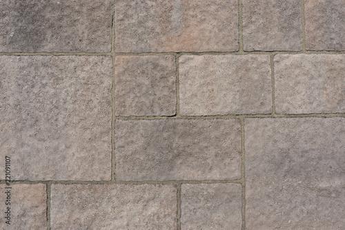Mur de pierres reconstituées ton gris rosé – kaufen Sie ...