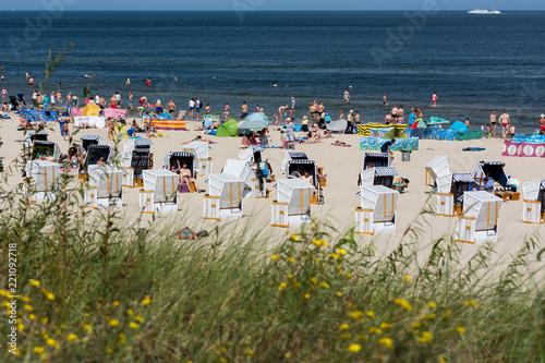 Obraz Świnoujście,plaża. - fototapety do salonu