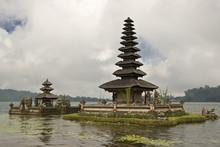 Buildings At Seashore In Indonesia