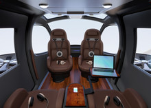 Passenger Drone Interior With ...