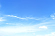 Celestial World concept: Abstract white cloud and clear blue sky in sunny day texture background