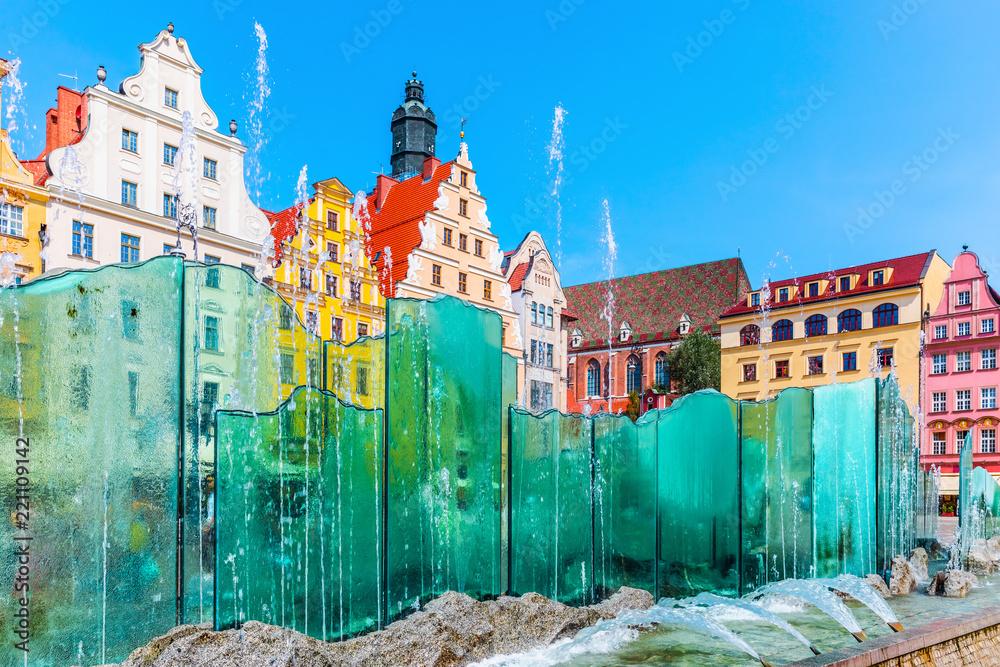 Fototapety, obrazy: Rynek we Wrocławiu