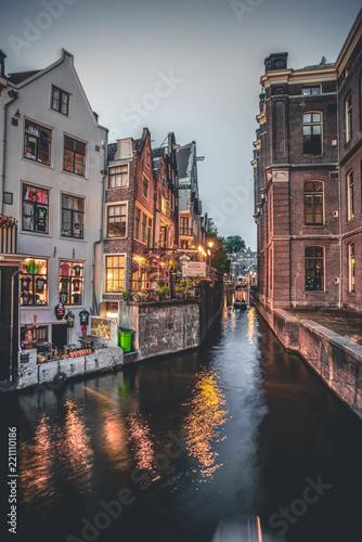 Photo  Evening In Amsterdam