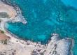 Vogelperspektive in Zypern