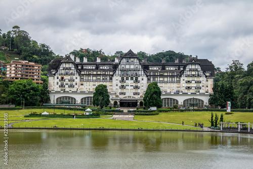 Foto  Quitandinha Palace former Casino Hotel - Petropolis, Rio de Janeiro, Brazil