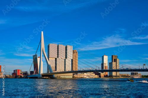 Staande foto Midden Oosten Rotterdam cityscape , Netherlands