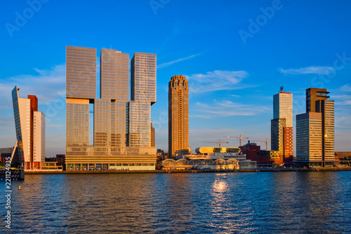 Foto op Canvas Rotterdam Rotterdam cityscape , Netherlands