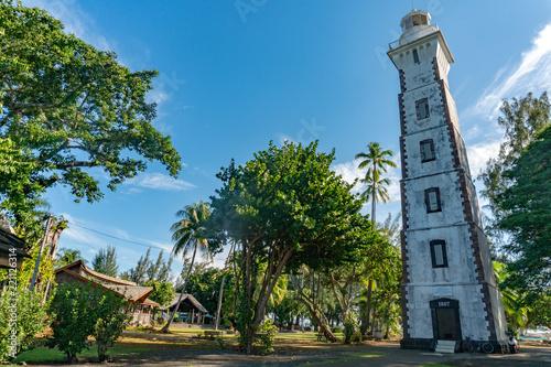 Fotografia Tahiti venus point lighthouse of robert louis stevenson
