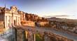 Bergamo, Porta san Giacomo, ancient door to the upper town of Bergamo, Italy