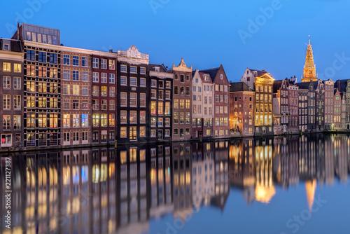 Amsterdam à l'heure bleue