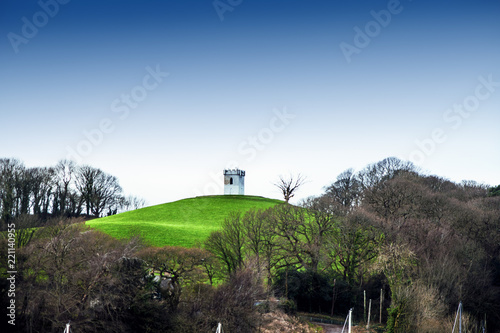 Tuinposter Zwart Caernarfon