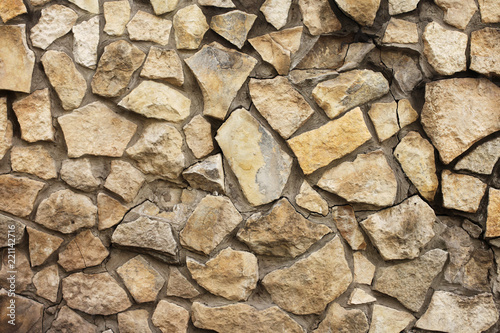Tuinposter Stenen Stone wall texture background