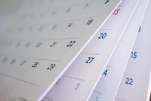 Calendar Page Flipping Sheet C...