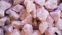 Rose Quartz Crystals Backgroun...
