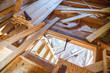 Construction of attic floor