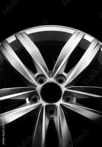 Photo Modern alloy wheel
