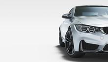 Generic Model Car, 3d Illustra...