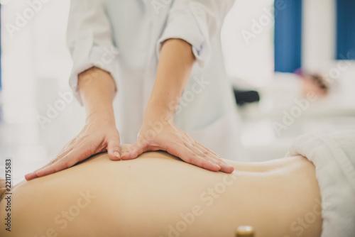 Obraz na plátně  Massagem corporal