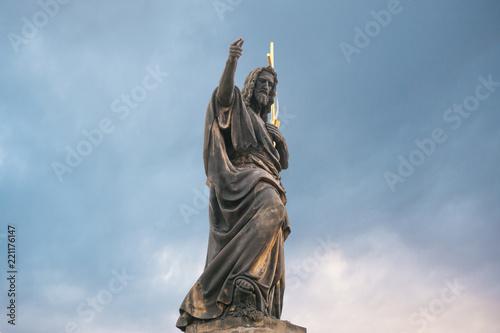 Fototapeta Sculpture of St