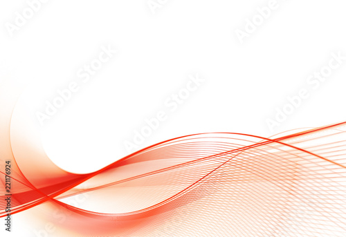 Foto op Aluminium Fractal waves abstract fractal background, texture, illustration. Fractal art.
