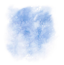 Abstract Blue Colorful Waterco...