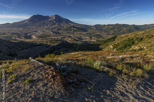 Keuken foto achterwand Verenigde Staten Beautiful Mount St. Helens National Volcanic Monument in Washington State, U.S.A.