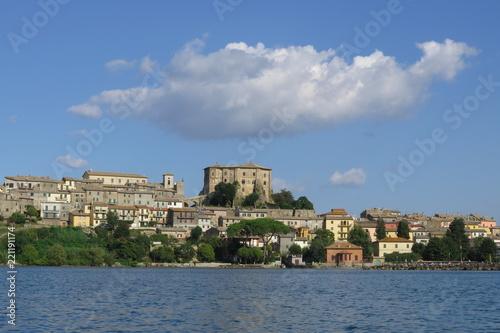 Fotografie, Obraz  Rocca di Capodimonte sul lago di Bolsena