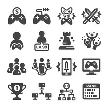 Esport,cybersport Icon Set