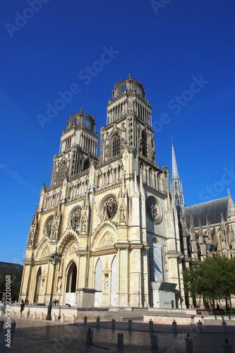 Orléans: Kathedrale Sainte-Croix Fototapet