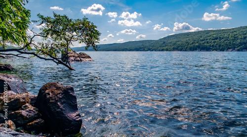Photo Stands Lake Greenwood Lake NY Summer