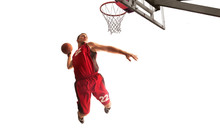Basketball Isolated On White