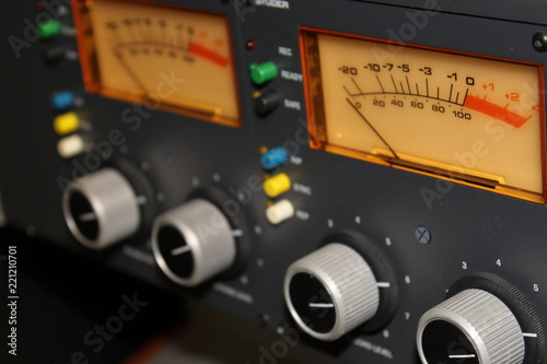 Fotografie, Obraz  Audio, Recording Studio, Microphone