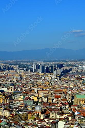 Foto op Canvas Napels Neapel im Sommer