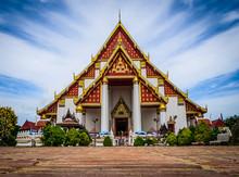 Wat Mongkol Bophit , Ayutthaya...