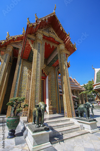 Foto  Wat Ratchabophit bangkok, thailand