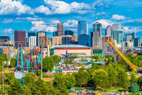 Fotografie, Tablou Beautiful Day in Downtown Denver