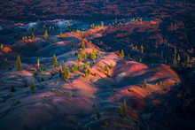 Colorful Painted Dunes, Lava B...