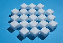 Sugar Cubes Forming Checkered ...