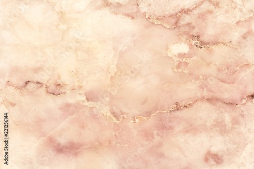 Fotografie, Obraz Rose gold marble texture background with high resolution for interior decoration