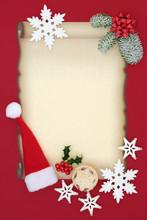 Letter To Santa Claus Concept ...