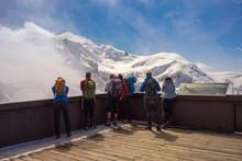 Terrace Peak Aiguille Du Midi